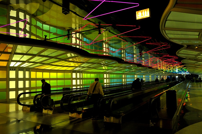 o'hare chicago blandat